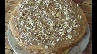 Торт Сметанник(Рецепт Сметанника - торта из сметанного теста и сметанного крема. Состав: грецкие орехи для теста: сахар..., 2014-05-30T15:08:42.000Z)
