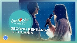 Ieva Zasimauskaitė - When We're Old - Exclusive Rehearsal Clip - Lithuania - Eurovision 2018