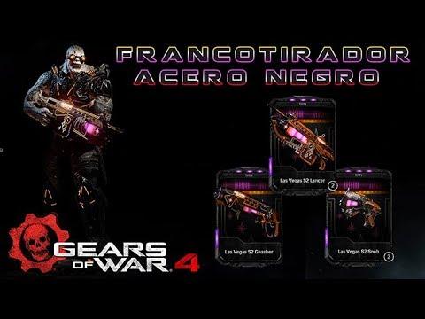 Gears of War 4 l ¿ Rifa el EMK Cachetes de Marrano ? l Francotirador Acero Negro l 1080p Hd