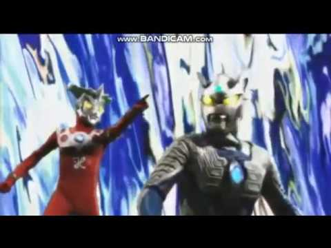 Ultraman Zero and Leo vs ultraman robot Ace,Seven and jack