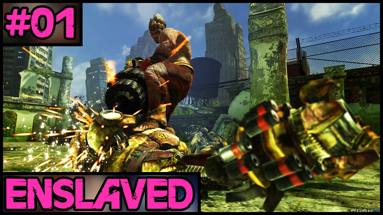 Download Enslaved: Odyssey To The West - Part 1 - PC Gameplay Walkthrough - 1080p 60fps