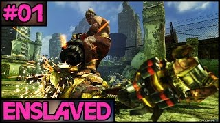 Enslaved: Odyssey To The West - Part 1 - PC Gameplay Walkthrough - 1080p 60fps