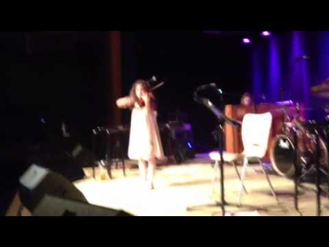 7 Years old Amira Abouzahra perform live in Germany