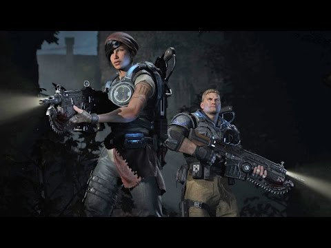 Gears of war 4 THE MOVIE- all cgi movie cutscence  HD 1080P