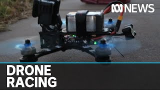 NSW man practices for national drone racing championships | ABC News