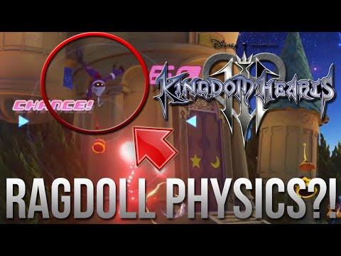 Kingdom Hearts 3 – Evidence of Ragdoll Physics Discovered?!