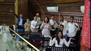 Ucapan Selamat Natal dari pelayan musik