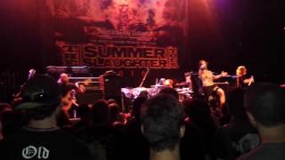 Slaughter to prevail - intro/Crowned and Conquered live at Summer Slaughter Tour 2016