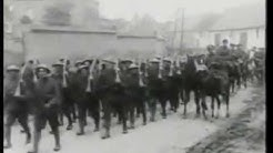 WW1 Battle Of The Somme- Real Footage