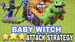 BABY WITCH Attack Strategy for Builder Hall 6 (BH6) | Baby Dragon+Night Witch | Clash of Clans