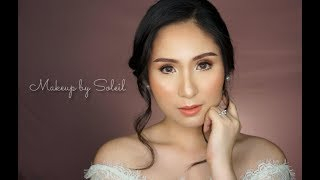 Asian Bridal Makeup Tutorial  (Makeup By Soleil)