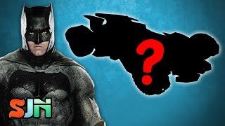 New Justice League Batmobile: Batman Gets A War Machine