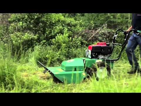 Video Billy Goat - sečení vysoké trávy HW, BC