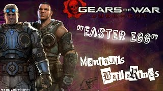 """""""Gears Of War Judgment"""" -- Easter Egg -- / *Maniquis Bailarines* / (Xbox 360)"""