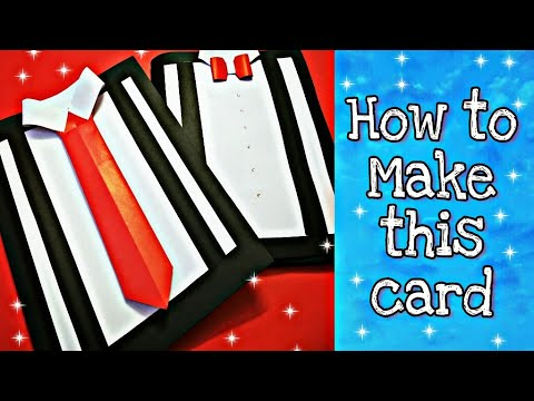 Teacher Day card tutorial || Father's Day card tutorial || DIY how to make a card at home