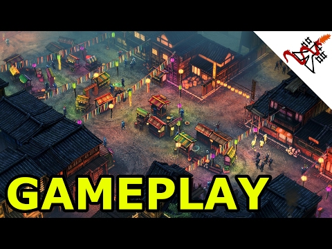 Shadow Tactics: Blades of the Shogun - GAMEPLAY [Commandos like Tactical Strategy game]
