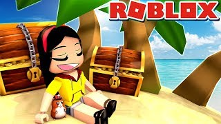 This Treasure Hunter Shoves Sand... - Roblox Treasure Hunt Simulator - DOLLASTIC PLAYS!