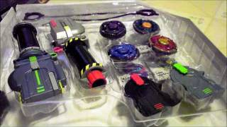 Beyblade Metal Masters: Ultimate Gift Set unboxing