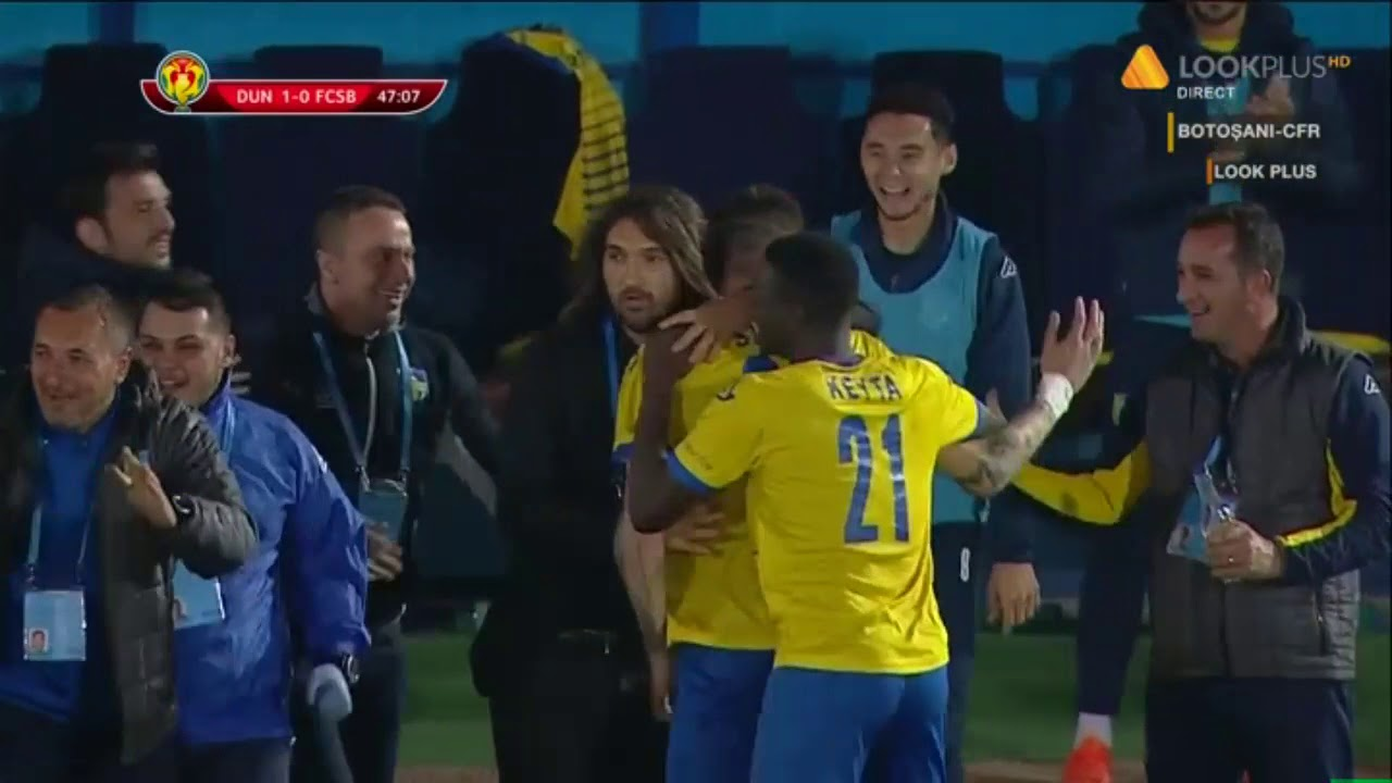 Gol Alin Seroni! Dunarea Calarasi  - FCSB 1-0! Cupa Romaniei Optimi