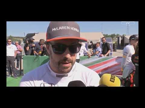 Interview Mclaren Honda team Post  Hungary F1 2017