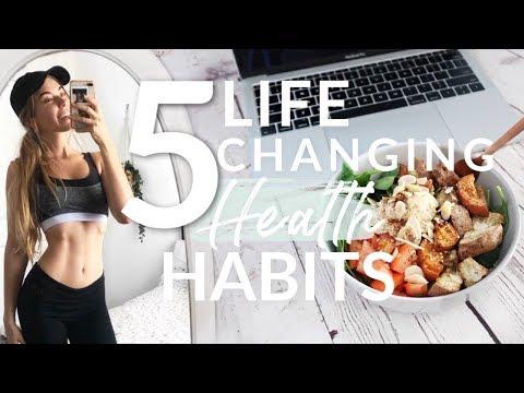 5 *Life Changing* HEALTH HABITS I Do EVERYDAY