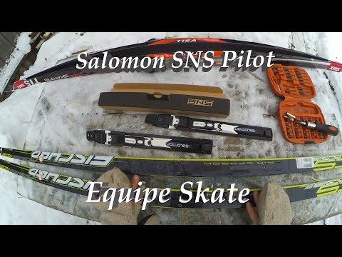 Крепления SNS Pilot Equipe Skate и мысли вслух о креплениях SNS Pilot