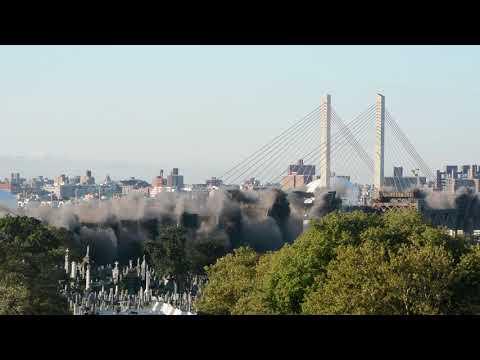 NYC Kosciuszko Bridge Demolition (10/1/17)
