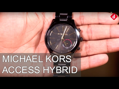 f138f141d Michael Kors Access Hybrid Slim Smartwatch Review | Digit.in - YouTube