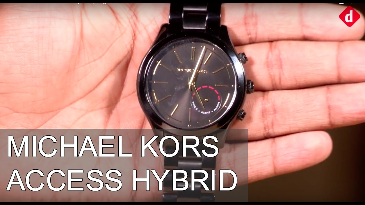 Michael Kors Access Hybrid Slim Smartwatch Review   Digit.in - YouTube 3ccfb4c721