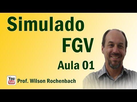 1º Simulado FGV - Aula 1