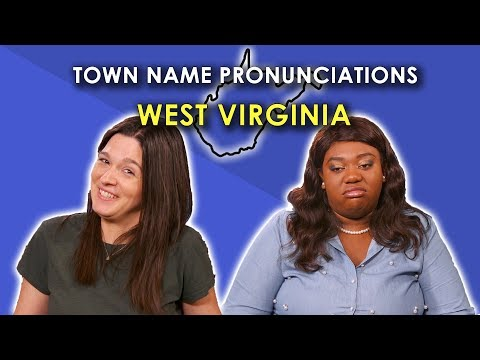 Cledus T. Party with Judy & Cledus - Strangers Try and Pronounce these West Virginia Towns!