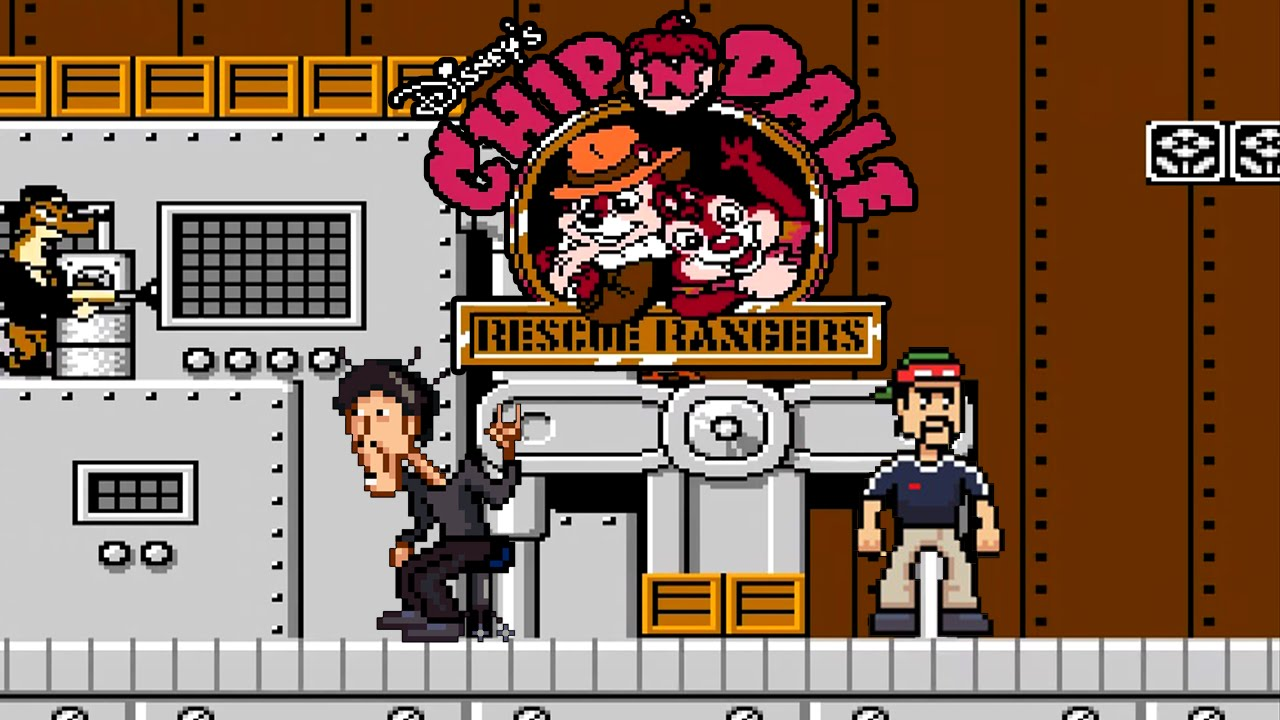 Chip'n'Dale Rescue Rangers OST [nes] Zone J (kinamania cover) - Chip'n'Dale Rescue Rangers OST [nes] Zone J (kinamania cover)