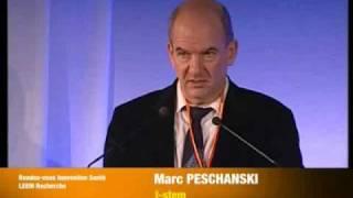 Thérapie cellulaire par Marc Peschanski, I-stem - AG du Leem Recherche Part 1