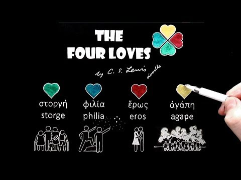 The Four Loves ('Agape' or 'God's Love') by C.S. Lewis Doodle