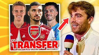 Houssem Aouar Arsenal TRANSFER Update From Fabrizio Romano!   Man City vs Arsenal Predicted Lineup!