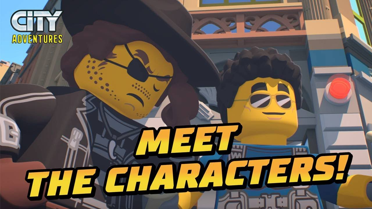 LEGO® City Adventures TV show | Who is in Season 2?
