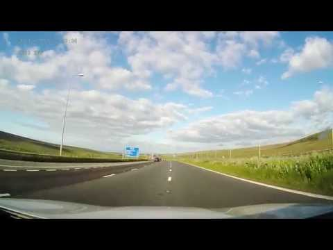 M62, Over the Pennies into Yorkshire - Highest Motorway in England and Beyond