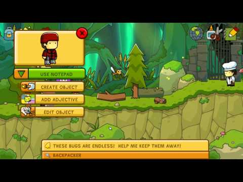 Scribblenauts Unlimited Playthrough - Meta Forest |