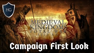 first Look at Medieval Kingdoms Total War 1212 AD Campaign - Kingdom of Jerusalem and Cyprus