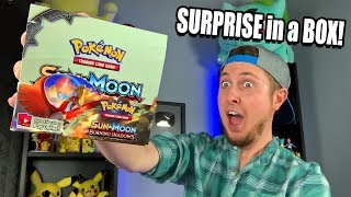 Surprise POKEMON CARDS BOOSTER BOX WITH A TWIST! (Opening Packages)