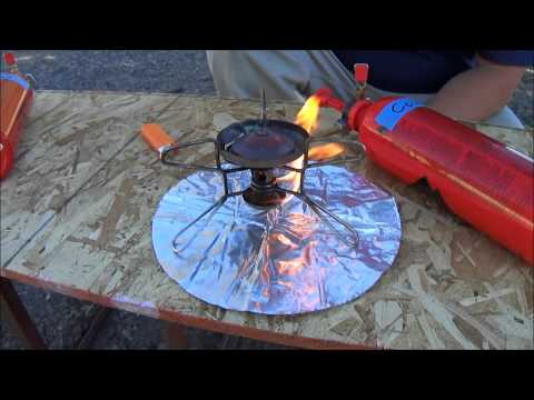 MSR Whisperlite Stove Review using gasoline