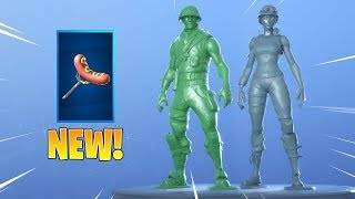 *NEW* TOY TROOPER & PLASTIC PATROLLER SKINS! Fortnite ITEM SHOP June 27