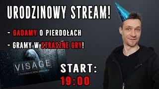 Urodzinowy live! Gramy w straszny horror VISAGE rozdział 2! :) - Na żywo