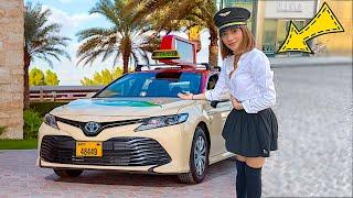 اشتغلت ك شوفيرة تاكسي ل يوم كامل 🚕😱