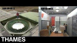 Exclusive   inside a Russian Nuclear bunker   Cold War   This Week   1991