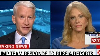 "Kellyanne Conway Implodes on ""Fake News"" CNN"