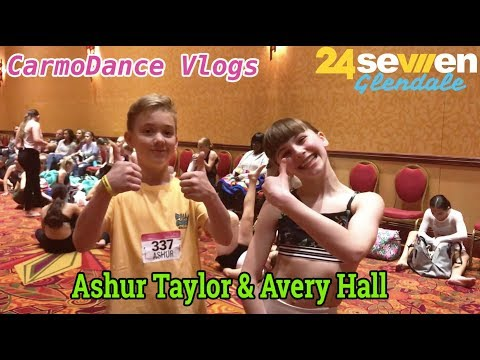 24Seven Dance With Ashur Taylor And Avery Hall | CarmoDance Vlogs