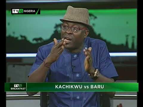 TVC Breakfast October 12th   Kachikwu vs Baru