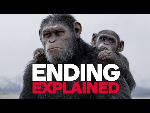 Thumbnail: Andy Serkis Explains the Ending of War for the Planet of the Apes
