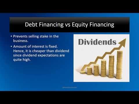 Debt Financing Vs Equity Financing 5